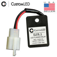 LED Flasher Relay *FAST BLINKER FIX* Plug and Play for Motorcycles! ELFR-1