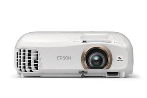 Epson Home Cinema 2045 LCD Projector white 3LCD 1080P Full HD 3D ready, sealed.