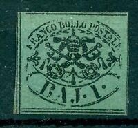 Päpstliches Wappen Nr. 2 a gestempelt