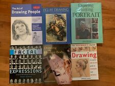 LEARN TO DRAW & PAINT PEOPLE 6 BOOK LOT:  Adult, Child, Faces, Figures, Anatomy+