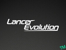 Lancer Evolution Auto Adhesivo Etiqueta Mitsubishi Evo