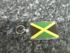 Jamaica Flag Jumbo Keyring. NEW. Gift Idea. The Caribbean