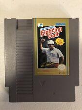 Original Tested Nintendo NES Lee Trevino's Fighting Golf Video Game Cartridge