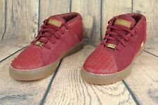 Nike Lebron 13 XIII Lifestyle Suede Trainers Team Red Gum 806396-600 Mens SZ 9