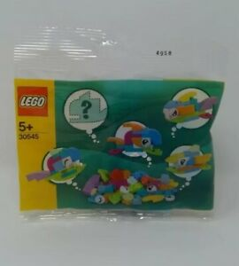 LEGO 30545 Creator Free Fish Builds Make It Yours Set Poly Bag