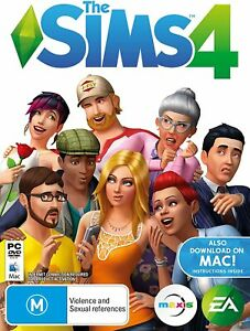 the Sims 4 PC DVD New Sealed In Stock