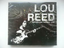 Lou Reed - Waiting for the Man - Live (CD, 2012) New and Sealed, with slip cover
