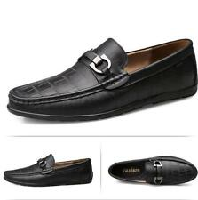 Men's Flats Driving Moccasin Shoes Loafers Pumps Slip on  Leisure Leather Casual