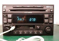 1997-2002 BOSE NISSAN PATHFINDER MAXIMA RADIO 6 CD CHANGER W AUX INPUT