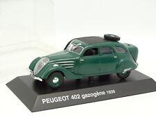 Prensa De Norev 1/43 - Peugeot 402 Generador De Gas 1939