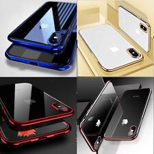 Hülle für iPhone XS MAX X 8 7 6 Plus HANDY HÜLLE + PANZER FOLIE GLAS Schutz Case
