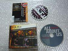t.A.T.u. CD single / ALL ABOUT US w/spine card obi & sticker Japan import