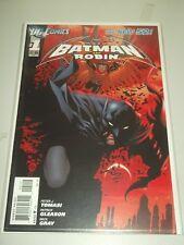 BATMAN AND ROBIN #1 DC COMICS NEW 52 NM (9.4)
