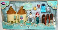 "NEW"" Disney Store ~ ARIEL MINI CASTLE PLAYSET ~ Barbie 3.5"" DOLL Prince Eric MAX"