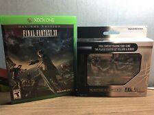 Final Fantasy Bundle/Lot/Set:  XBOX One Day One Final Fantasy XV & Card Game