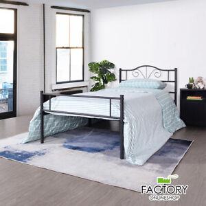 Twin Full Queen Size Metal Bed Frame Mattress Platform Headboard Foundation Base