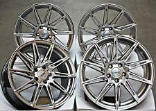 "18"" CRUIZE TURBINE HS ALLOY WHEELS FIT CITROEN JUMPY FIAT SCUDO"