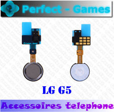 LG G5 nappe bouton accueil home button flex cable sensor gris grey