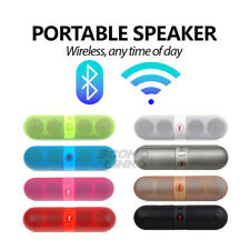 NEW Portable Wireless FM Stereo Speaker For SmartPhone Tablet