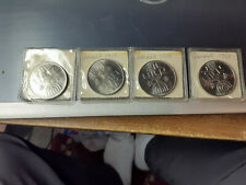 4 COINS - Israel 1 Lira Hanukkah 1958 Law Is light Menora COINS UNCIRCULATED
