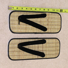 Straw Zori Sandals Japanese Shoes Mens Size- Martial Arts