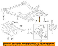 GM OEM Front Suspension-Engine Cradle Bolt 11589009