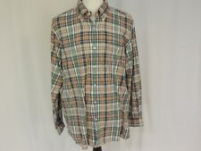 Viyella Vintage edition plaid cotton long sleeve shirt size XXL