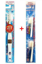TOOTHBRUSH IONIC SPARKLE WHITE REMOVE PLAQUE HEALTHY GUMS WITH BRUSH HEAD REFILL