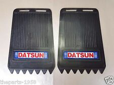 1 PAIR MUD FLAPS FITFOR DATSUN 620 720 521 NOS JAPAN