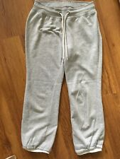 Primark Womens 3/4 Length Grey Tracksuit Bottom Size 8
