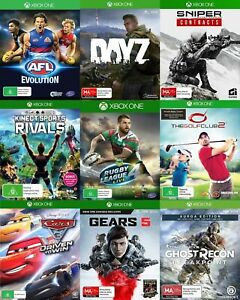 Xbox One Games - Choose Your Own Title *FREE Next Day Post from Sydney*