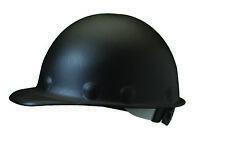 Fibre-Metal Roughneck Cap Style Hard Hat with 8 Point Ratchet Suspension, Black