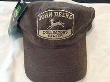 VTG John Deere Tractor Collectors Center Farmer Trucker Hat new with tag