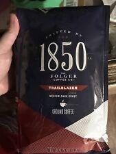 Folgers 1850 Coffee Medium Dark Roast 32oz 2 LBS Trailblazer Exp. Jan 2021 New