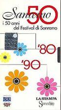 VHS I 50 anni del festival di sanremo 1976-1999
