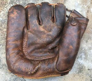 Vtg 1940s 1950s Rawling St Louis Baseball Glove Official Softball Mitt