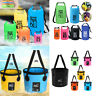 PVC Waterproof Dry Bag / Portable Fishing Folding Bucket Camping Water Sports