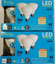 6 pack BR30 LED 10W 2700K Warm White Indoor/Outdoor Flood Light Bulbs 65 Watt