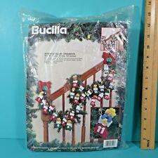 Bucilla Advent Garland Set Of 26 Felt Applique Christmas Ornaments Kit 83216