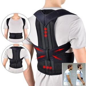 Posture Corrector Magnetic Back Waist Shoulder Correction Brace Belt Therapy