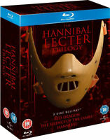 THE HANNIBAL LECTER TRILOGY [Blu-ray Box Set] All 3 Movies Complete Collection