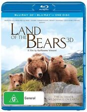 Land Of The Bears (Blu-ray, 2014)
