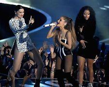 Ariana Grande Nicki Minaj Jessie J 8x10 In Concert Photo #1