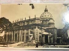 St.James Cathedral,Montreal,Canada .Vintage Unused Postcard