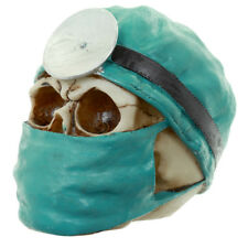 Brand New  SURGEON / DOCTOR  SKULL Creepy Decorative Ornament  Gothic Goth Vamp