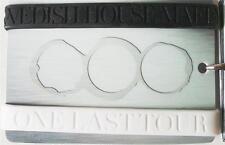 SWEDISH HOUSE MAFIA One Last Tour Silicon WRIST BANDS 2 piece pack Black & White