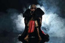 Custom cape for Four Horsemen Mythic Legions Leossyr,King,Knight