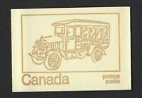Canada BK69f: QEII Centennial 1c, 6c, 8c (book of 6, HF) OP-2 clear, Old Bus, VF