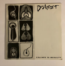 Disaffect- Chained To Morality LP Used Belgian 1994 Hardcore Punk