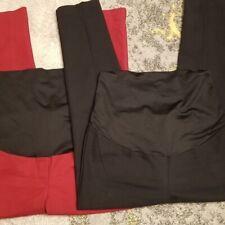 Loft Maternity Dress Pants Straight Leg lot 2